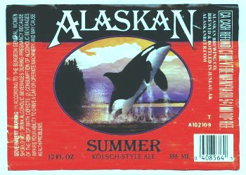 alaskan summer label