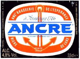 Ancre Beer Label