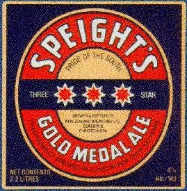 spight's gold medal ale label