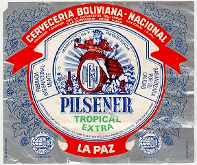 pacena beer label