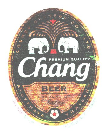 Chang label