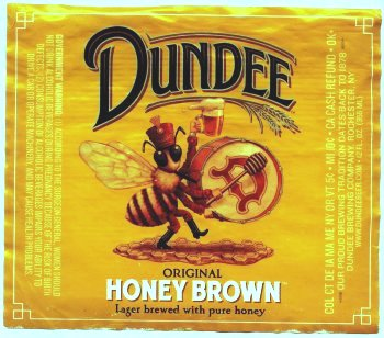 dundee honey brown label