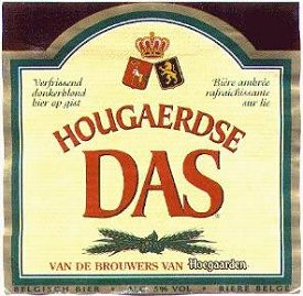 hougaerdse das beer label