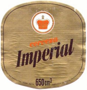 imperial beer label