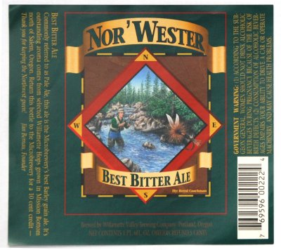 best bitter ale label