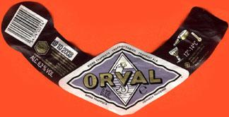 Orval Beer Label