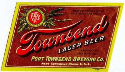 townsend beer label