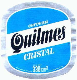 quilmes beer label