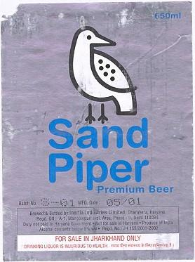 Sandpiper Beer Label