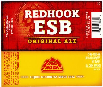 red hook esb label