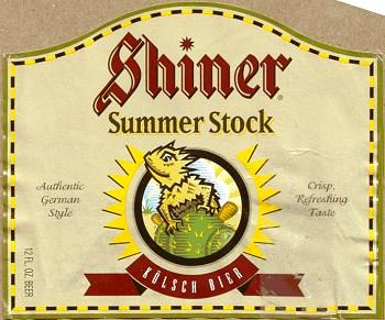 shiner summer stock label