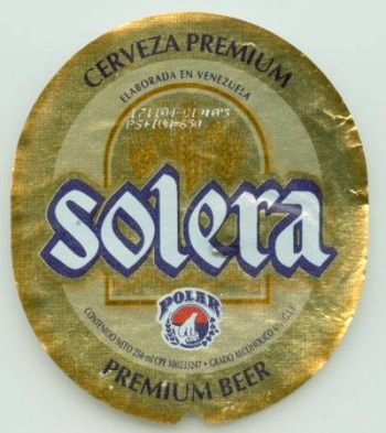 solera beer label