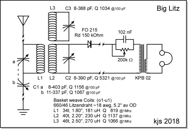 circuit diagram: the set retains my interest in breadboard-style  construction with separate boards for each principal component  boards  consist of the main