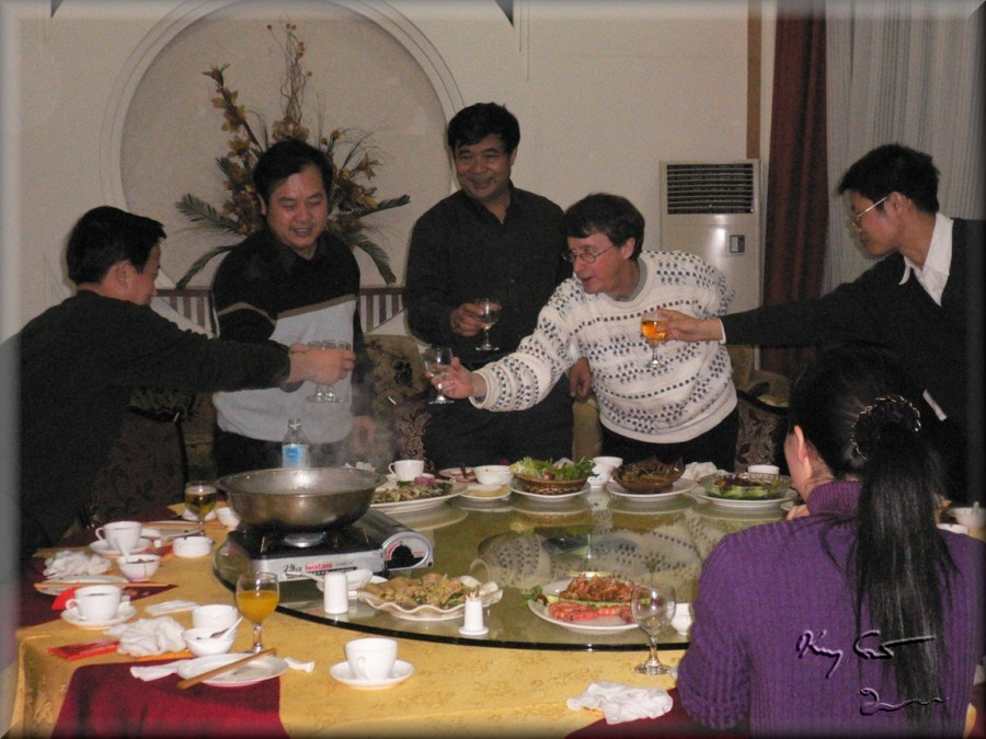Business banquet, Northeast China