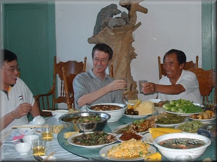 Private banquet, Northeast China