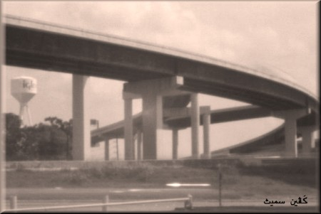 pinhole photograph gallery, overpass